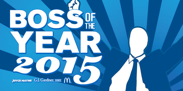 Boss of the Year 2015